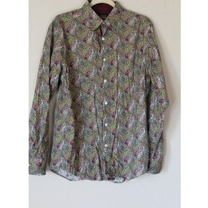 Cremieus premium denim Men's button down shirt